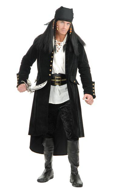 Pirate Treasure Island Suede Velvet ADULT Coat