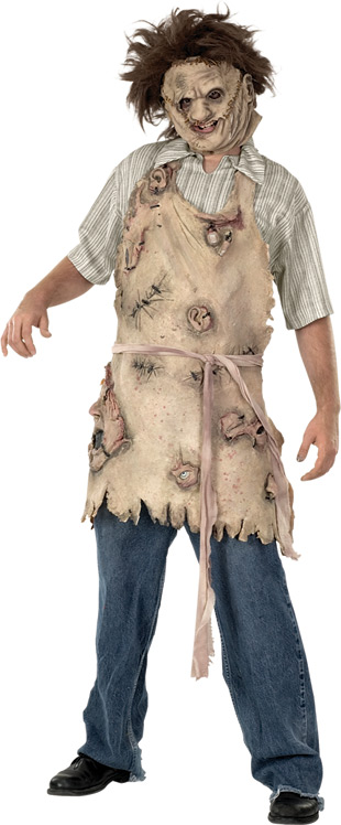 Texas Chainsaw Massacre Deluxe Adult Apron of Souls