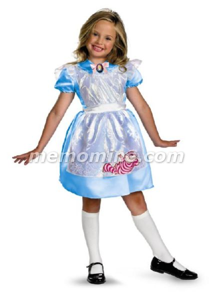 Alice in Wonderland Alice Classic Girls Costume **IN STOCK*