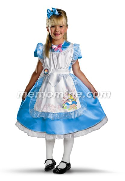 Alice in Wonderland Alice DELUXE Girls Costume **IN STOCK**