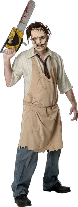 Texas Chainsaw Massacre Leatherface™ Adult Costume STD