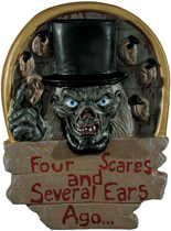 Crypt Keeper™ Four Scares And Severalrs Ago - Wall/Door Plaque