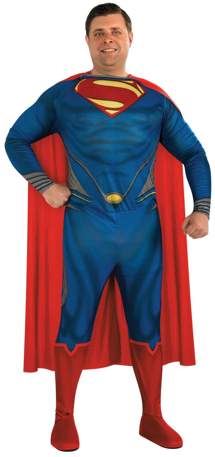 Superman Man of Steel Adult Costume Plus Size