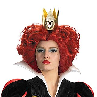 Alice in Wonderland Red Queen of Hearts Wig *IN STOCK*