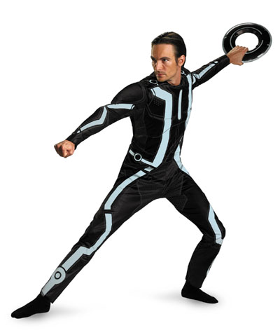 Tron Legacy Adult Deluxe Male Costume **IN STOCK**