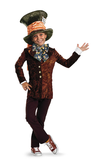 Alice in Wonderland Mad Hatter Child Classic Costume **IN STOCK*