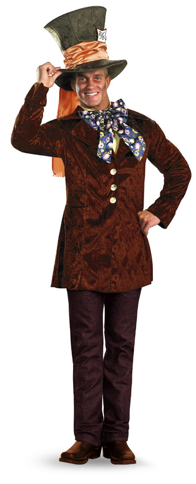Alice in Wonderland Mad Hatter Adult Classic Costume **IN STOCK*