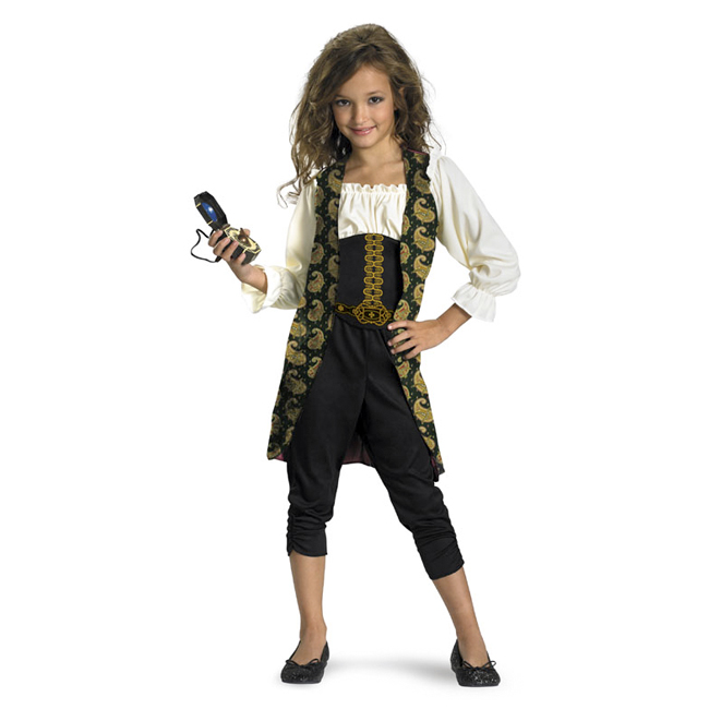 Pirates of the Caribbean Angelica Classic Child Costume