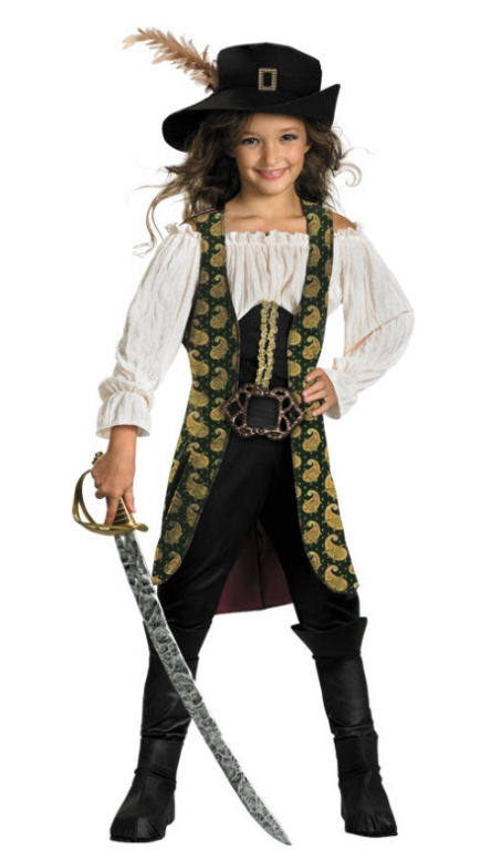 Pirates of the Caribbean Angelica DELUXE Child Costume