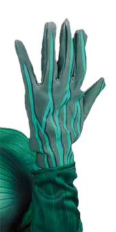 Green Lantern Child Gloves