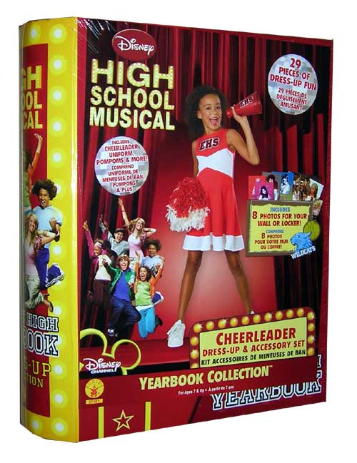 High School Musical Cheerleader Dress Up Yearbook