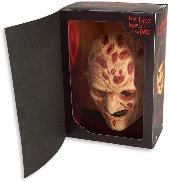 Nightmare On Elm Street Freddy™ Foam Latex Mask