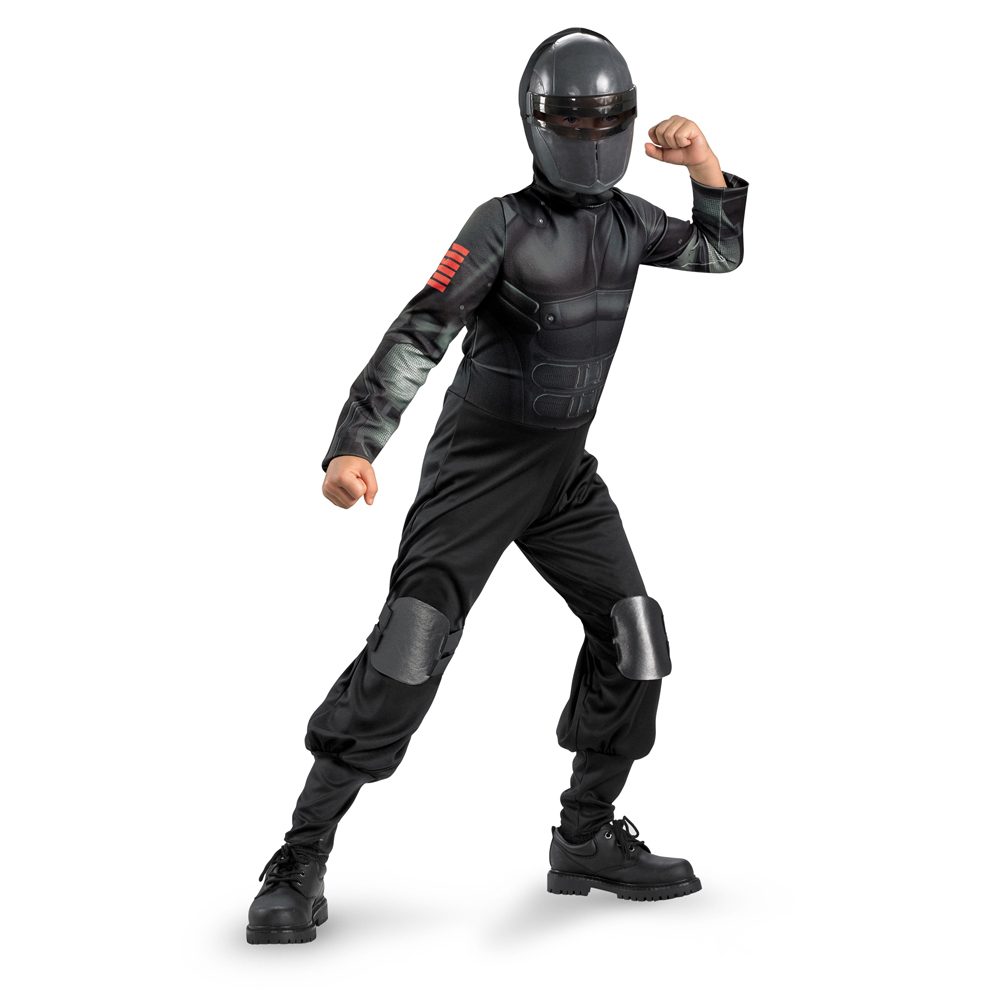 G.I. Joe: Retaliation Snake Eyes Classic Child Costume