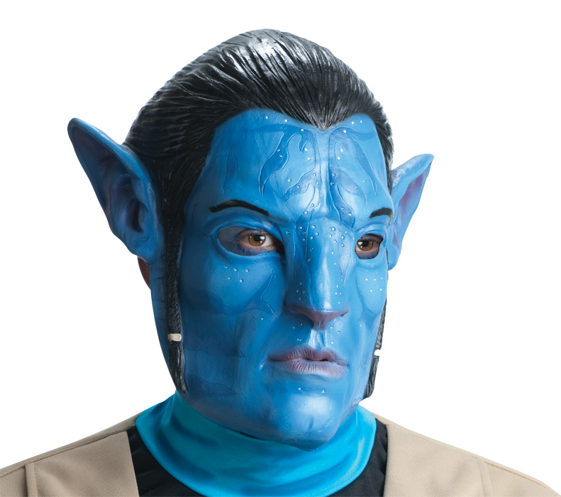 AVATAR Movie Jake Sully 3/4 Vinyl Adult mask **IN STOCK**