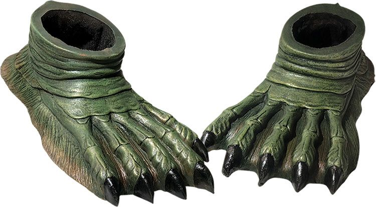 Creature from the Black Lagoon™ Latex feet