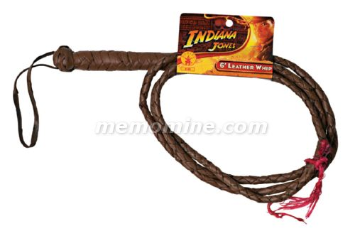 Indiana Jones Adult Six foot leather whip