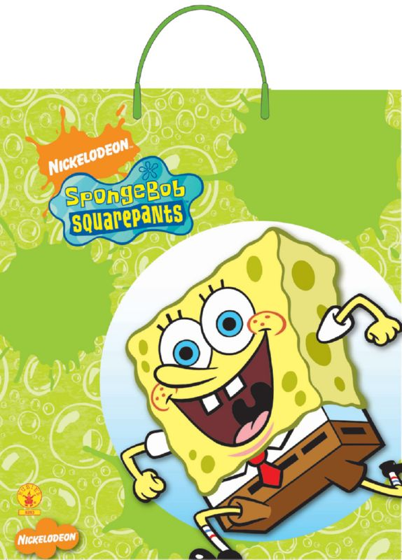 Spongebob TOT Plastic Bag by 12 only
