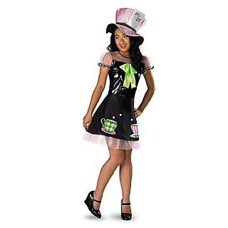 Alice in Wonderland Mad Hatter TWEEN Costume PRE-SALE