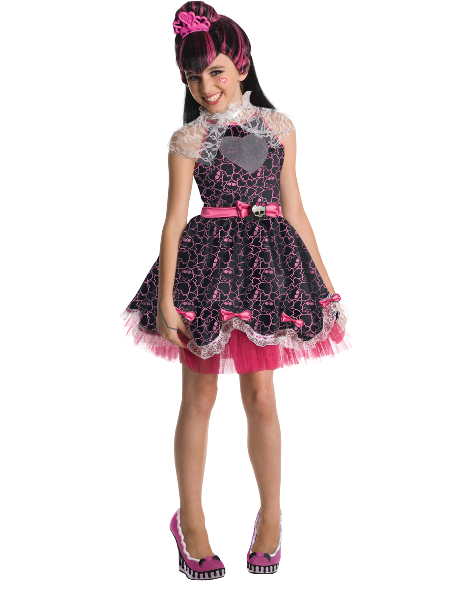 "Monster High Draculaura ""Sweet 1600"" Child Costume"
