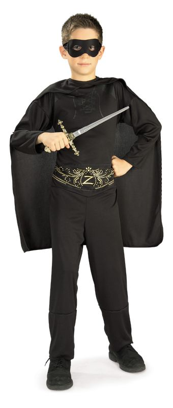 Zorro™ Child Costume S,M,L