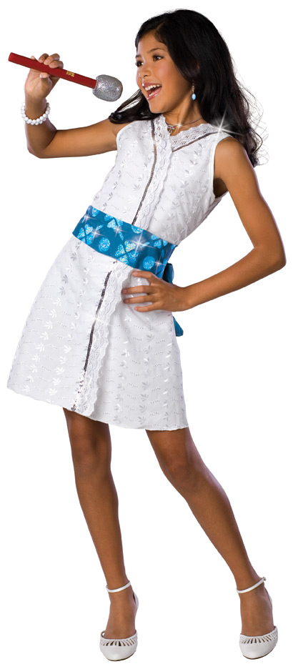 High School Musical Gabreilla Star Dazzler Deluxe Costume S,M,L