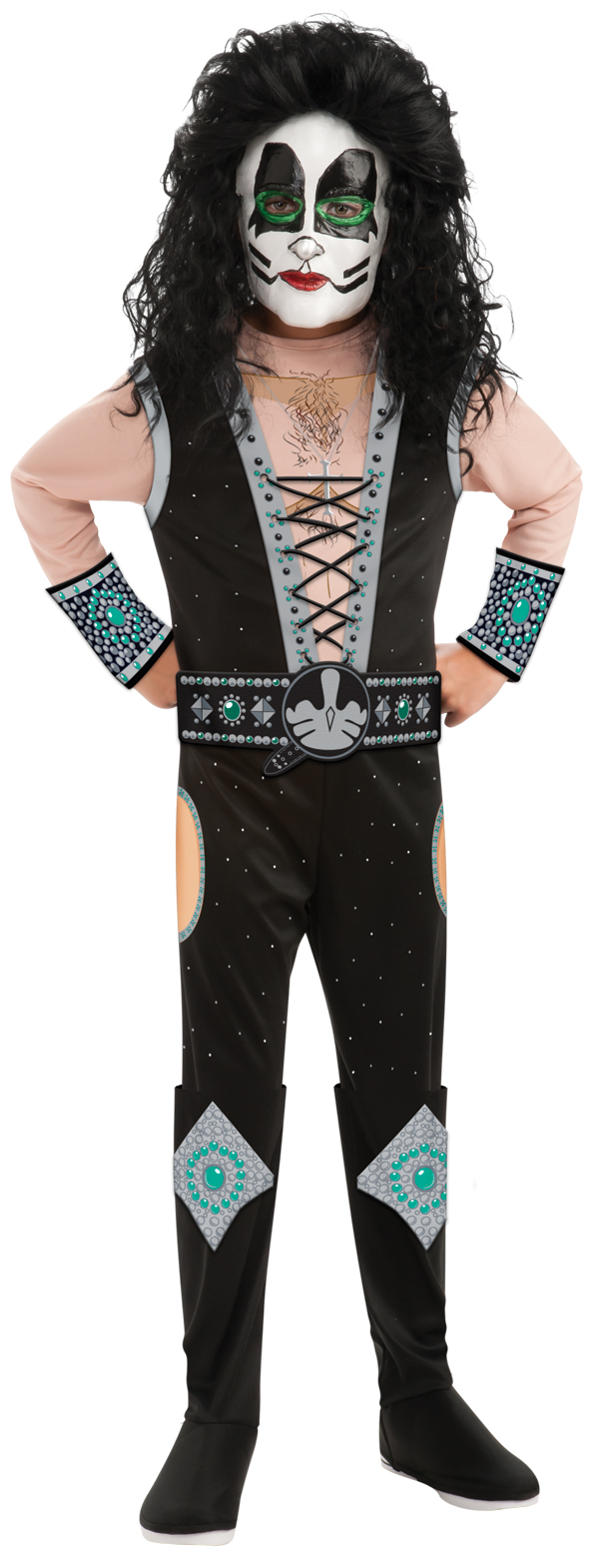 KISS - Catman Child Deluxe Costume S, M, L