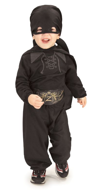 Zorro Child Flannel Costume INFT, TODD