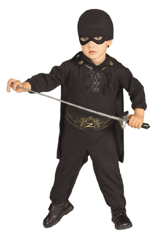 Zorro™ Child Costume NWBN, INFT
