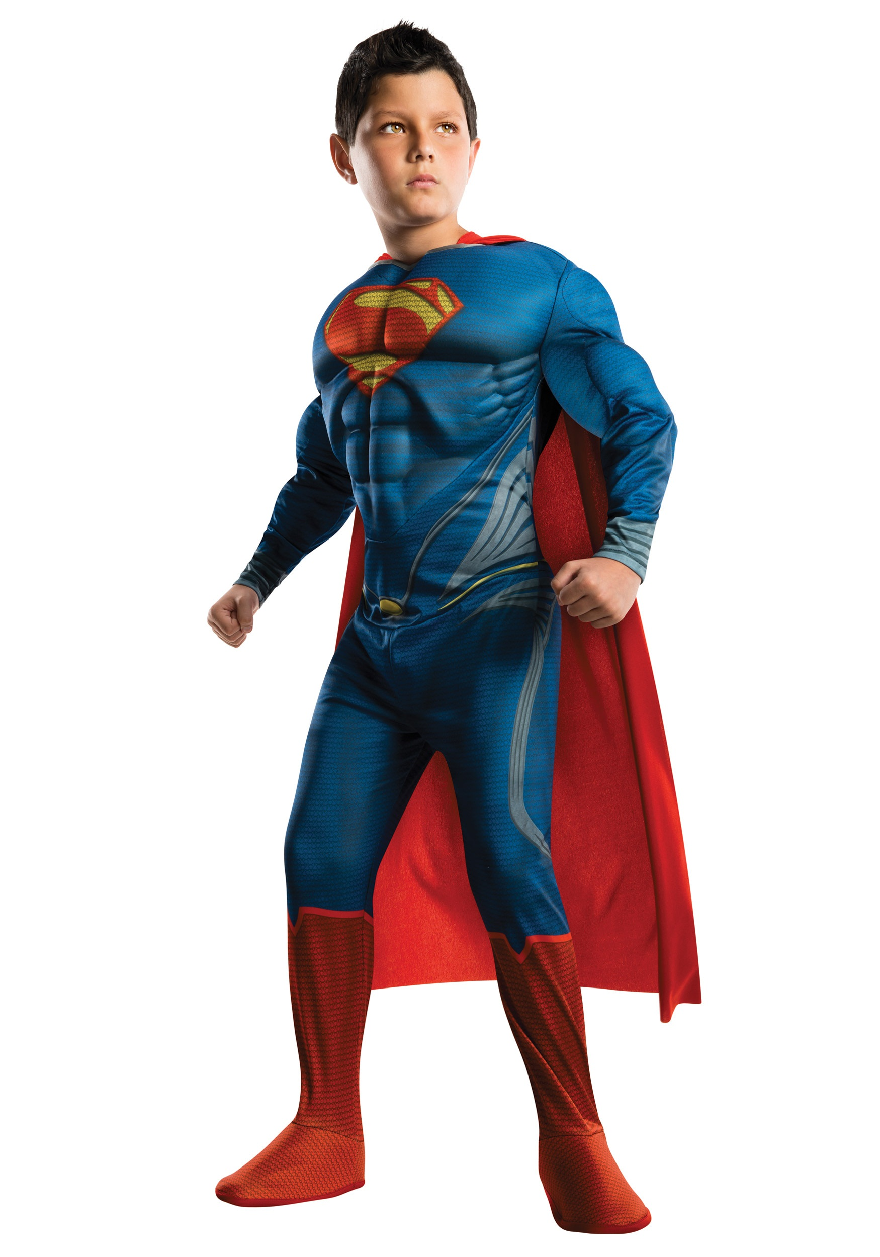 Superman Man of Steel Child DELUXE Costume