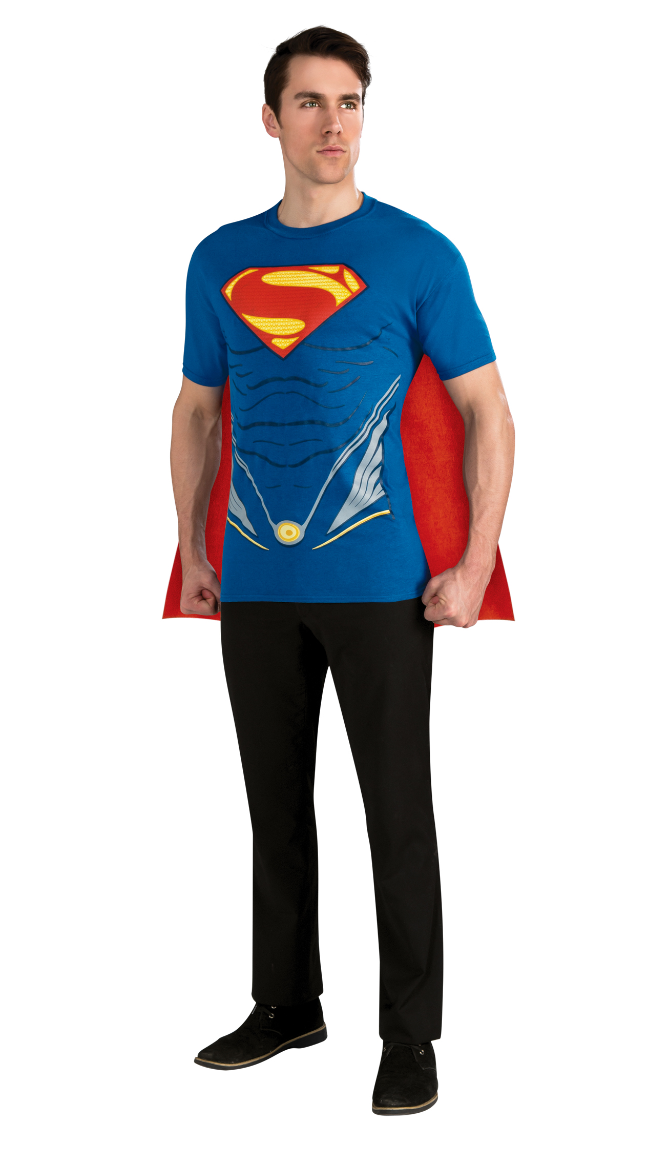 Superman Man of Steel Adult Costume Top
