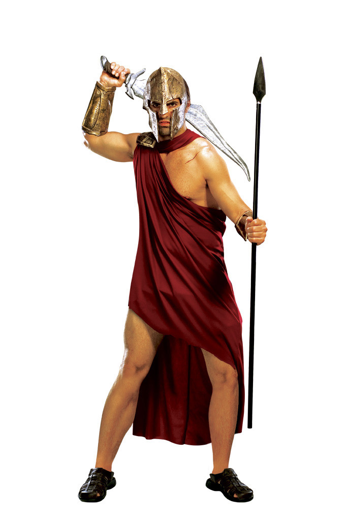 300 Movie Spartan Adult Halloween Costume Size STD, XL