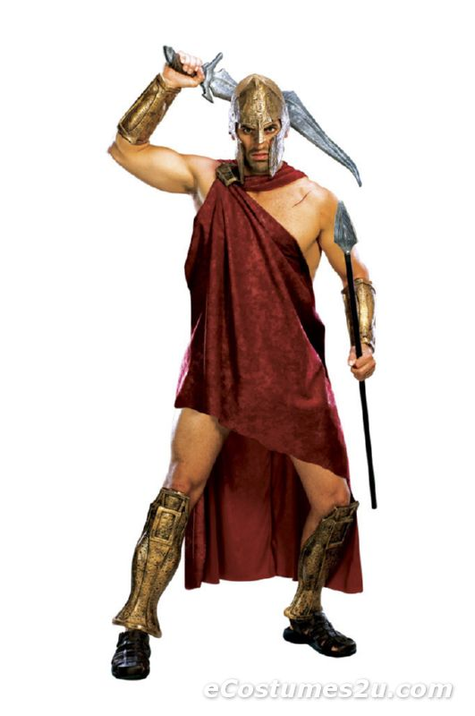 300 Movie Spartan Adult Deluxe Costume Size STD, XL