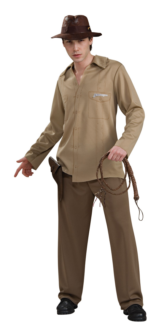 Indiana Jones Adult Costume STD, XL