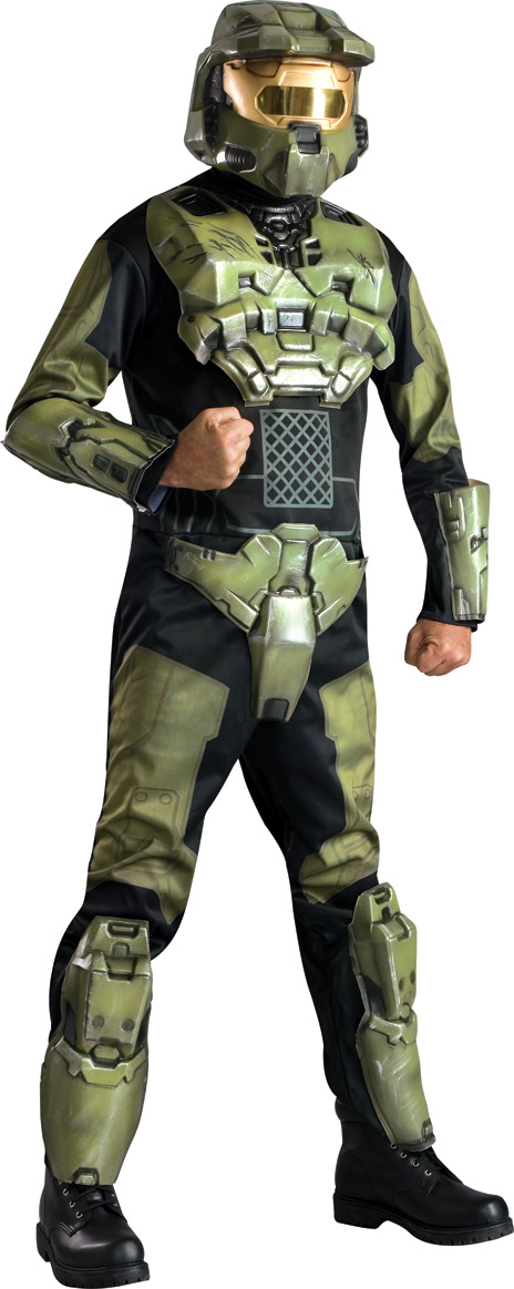 Halo 3 Master Chief Deluxe Costume STD-XL