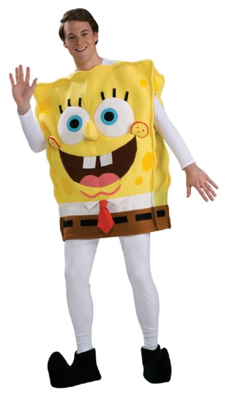 Spongebob Adult Deluxe Costume STD