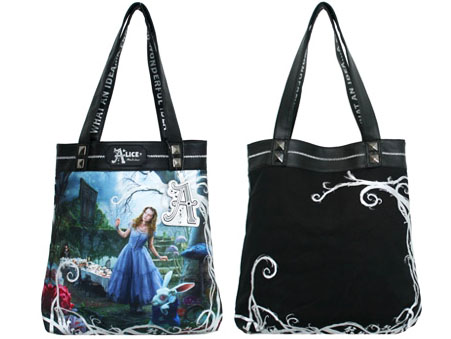Alice in Wonderland Designer Tote Bag Alice **In Stock**