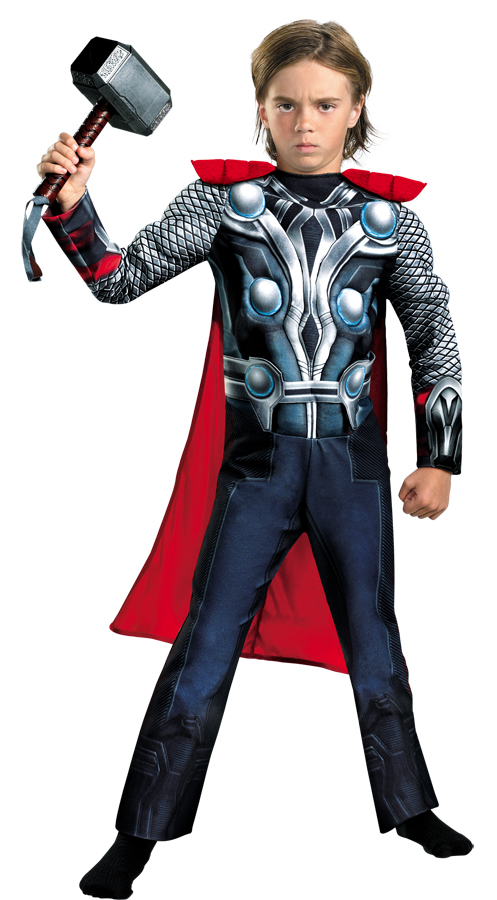 Avengers THOR CLASSIC MUSCLE 7 Child Costume