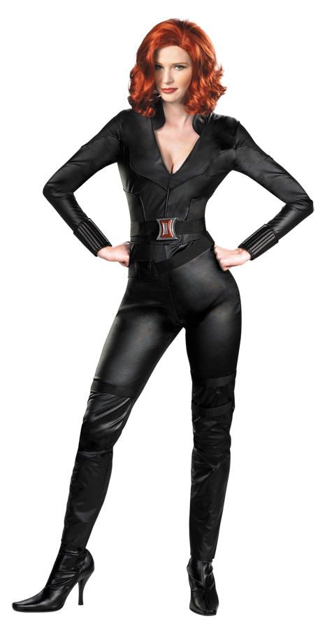 Avengers BLACK WIDOW Adult Deluxe Costume Size L 12-14