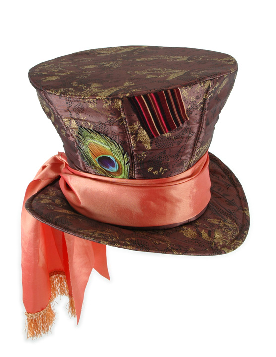 Alice in Wonderland CHILD Mad Hatter Top HAT *In Stock*