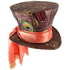 Alice in Wonderland Mad Hatter Top HAT *In Stock*
