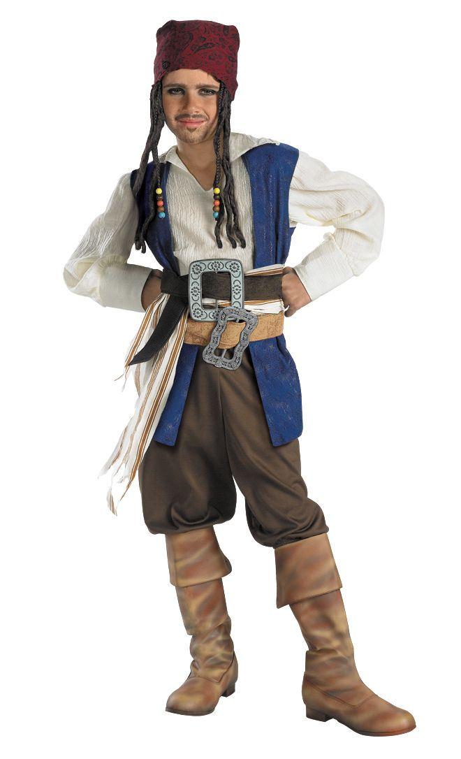 Disney Jack Sparrow Quality Costume Child S,M,L