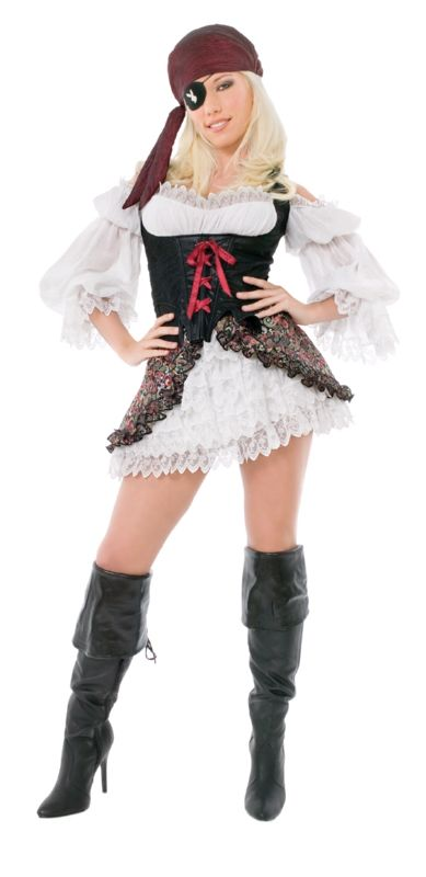 PLAYBOY Licensed Costume BUCCANEER BEAUTY XS, S, M, L