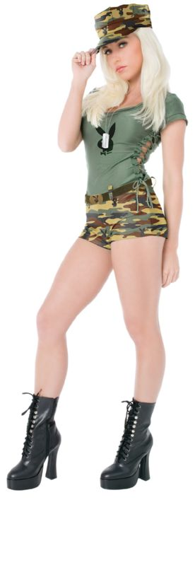 PLAYBOY Licensed Costume BOOTCAMP BABE XS, S, M