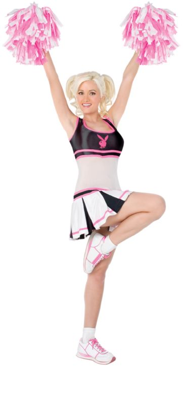 PLAYBOY Licensed Costume CHEERLEADER XS, S, M