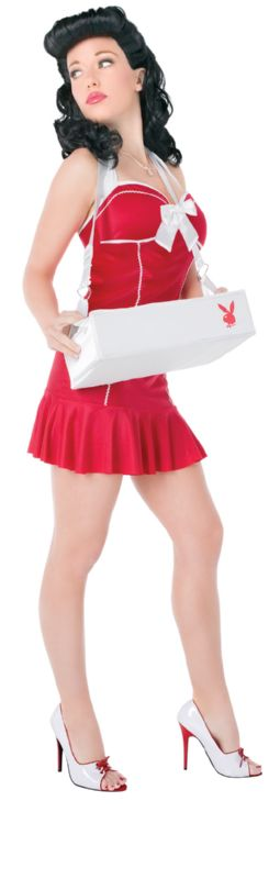 PLAYBOY Licensed Costume CIGARETTE GIRL XS, S, M