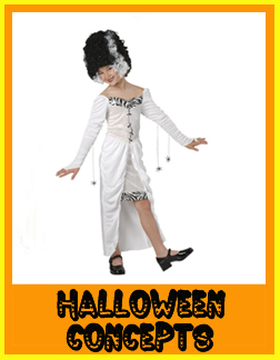 Halloween Concepts Girl Costumes