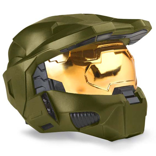 Halo 3 Master Chief SUPER Deluxe Helmet w/light up search lights